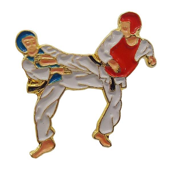 Chest Pin Taekwondo GEYORUGI 10