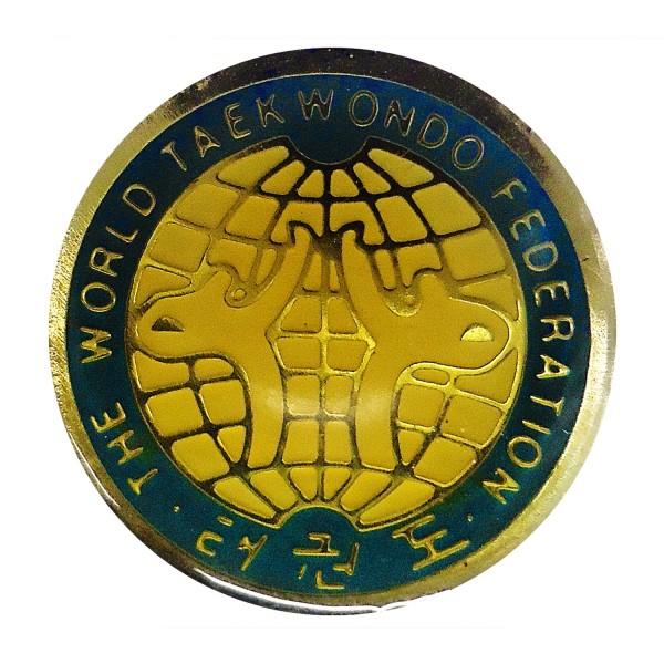Chest Pin WORLD TAEKWONDO FEDERATION Old Logo