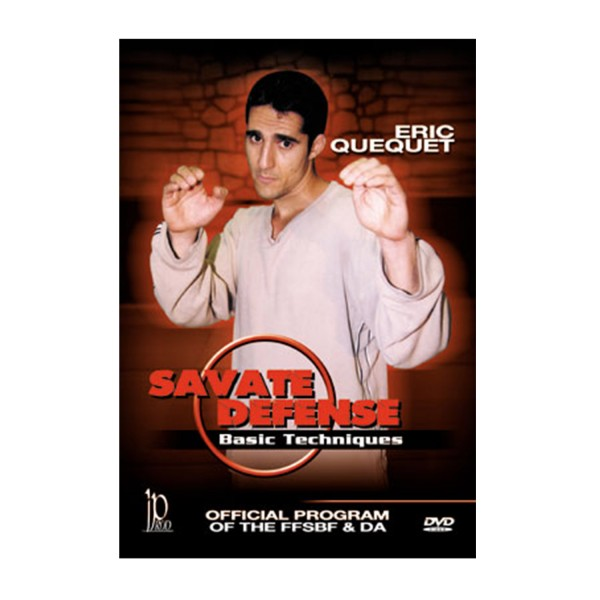 DVD.105 - SAVATE DEFENCE Basic Techniques