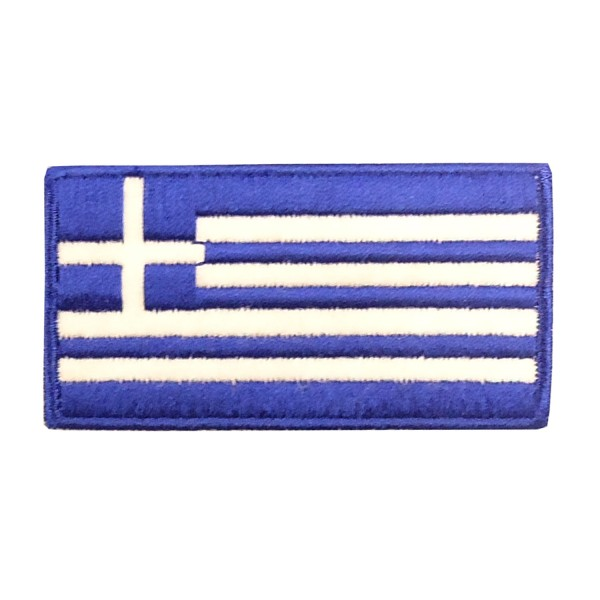 Embroidery Patch - Greek Flag Middle