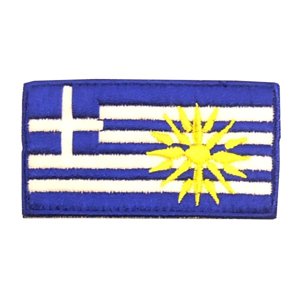 Embroidery Patch - Greek Flag Vergina Star Small
