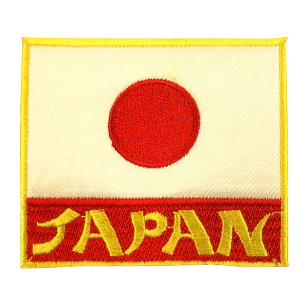 Embroidery Patch - Flag Japan