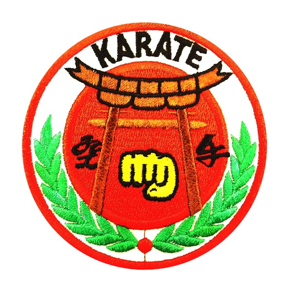 Embroidery Patch - KARATE Punch