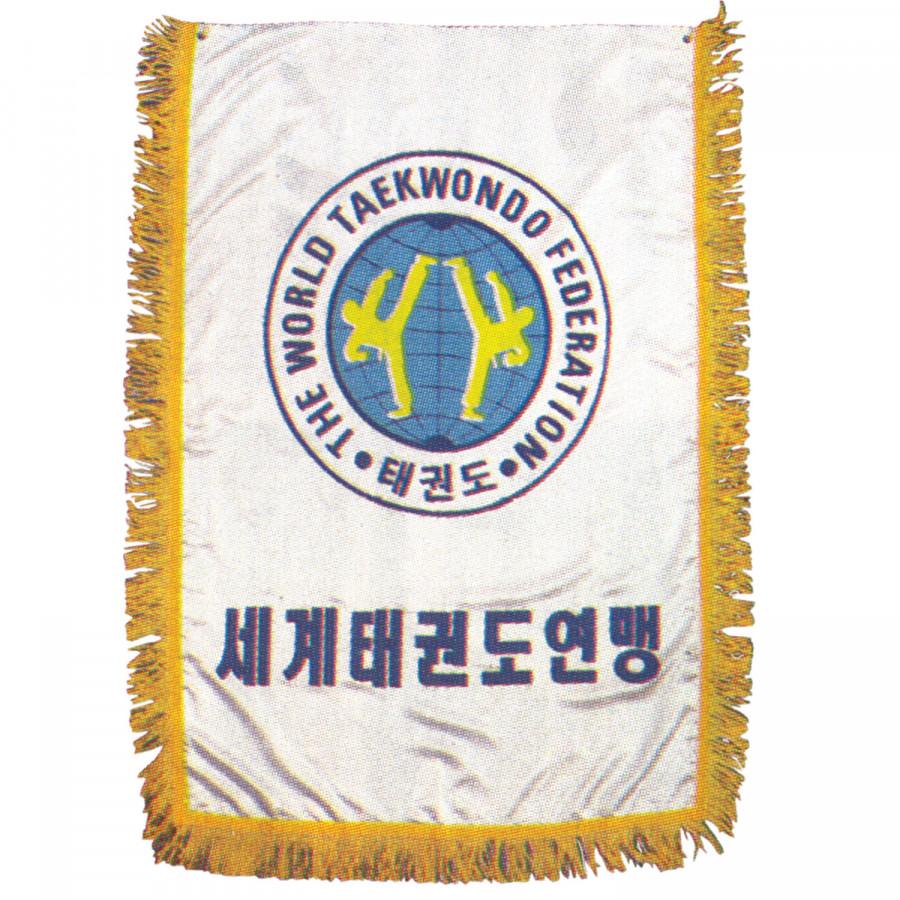 Σημαία WTF Σατέν με Κρόσσια