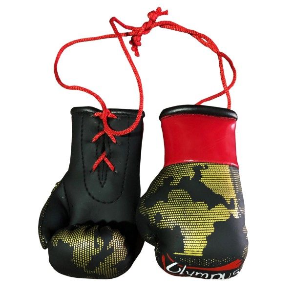 Mini Boxing Gloves Olympus 10cm Lace Pair