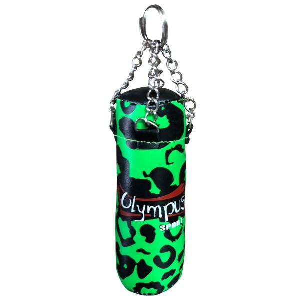 Key-Ring Mini Punching Bag Olympus Green