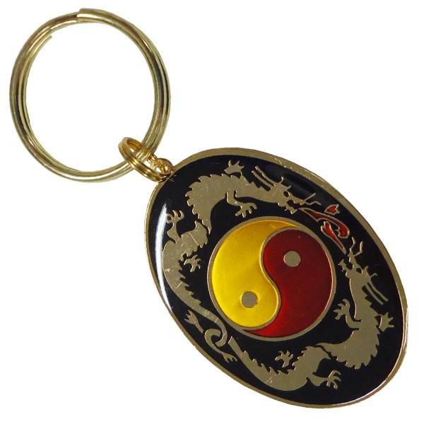 Key-ring YIN YANG Kung-Fu Oval - H507