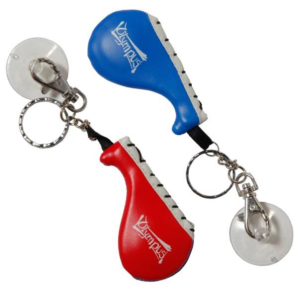 Key-ring MINI TARGET MITT Blue/Red