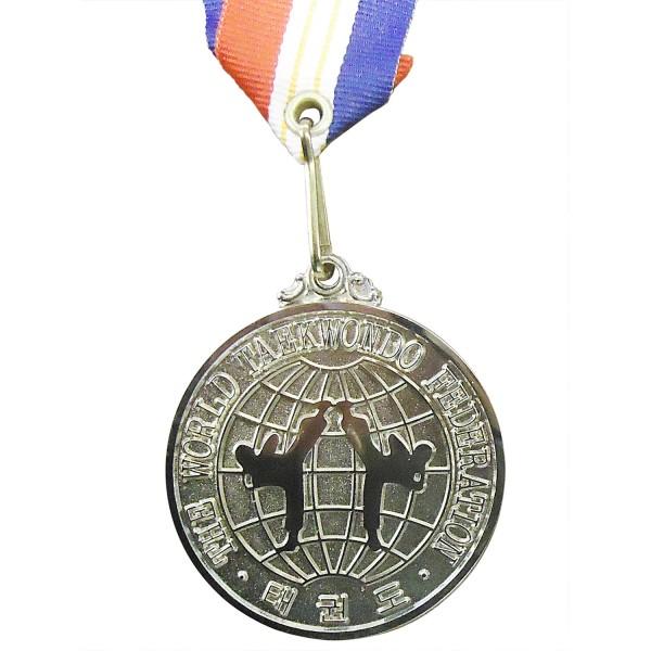 Medal Taekwondo WTF Original Logo 5cm