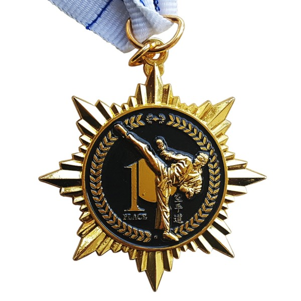 Medal Star Shaped KARATE