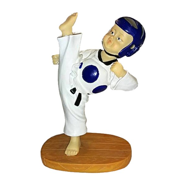Taekwondo BABY KICK Statue