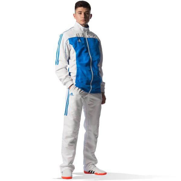 Tracksuit Adidas TEAM White / Sky Blue - TR40