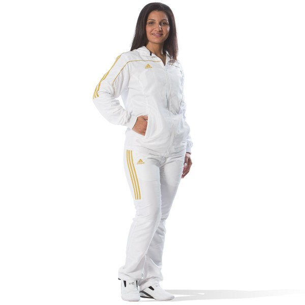 Tracksuit Adidas TEAM White/Gold - TR40