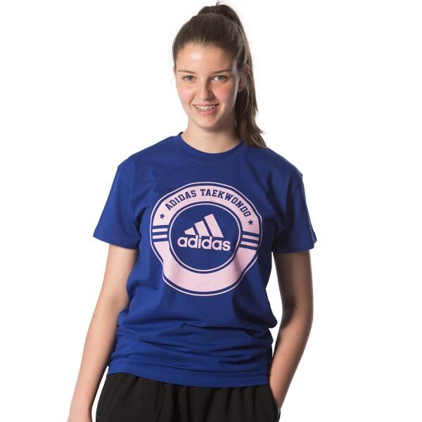 Κοντομάνικη Μπλούζα Adidas COMBAT Taekwondo Hellas - adiCSTS01T