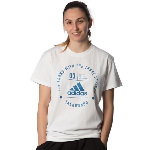 Κοντομάνικη Μπλούζα Adidas COMMUNITY II Taekwondo – adiCL01T