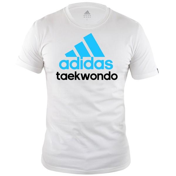 Community T-shirt Adidas Cotton TAEKWONDO - adiCTTKD