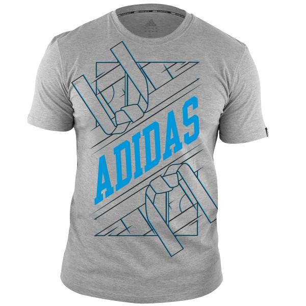 T-shirt Adidas Cotton Martial Arts GRAPHIC Line - adiTSG1