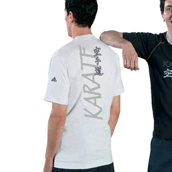 T-shirt Adidas - KARATE Cotton White