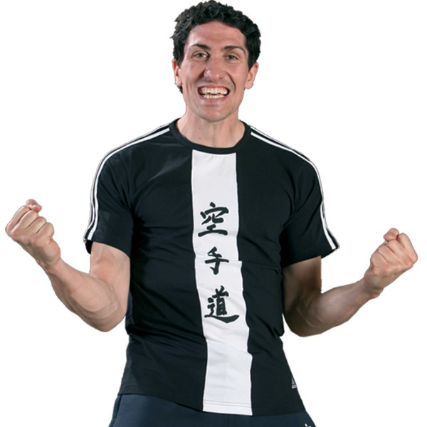T-shirt Adidas - KARATE Cotton Black & White