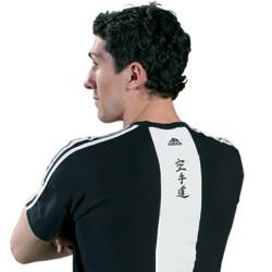 T-shirt Adidas - KARATE Cotton Black & White