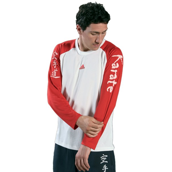Shirt adidas - KARATE Long Sleeves