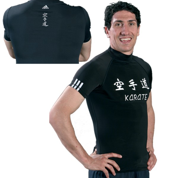 T-shirt Adidas - KARATE Lycra High Collar