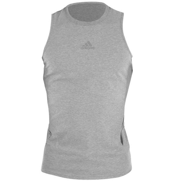 Αμάνικη Μπλούζα Adidas GO-TO-MUSCLE SPEEDLINE Γκρι - adiSGTM01