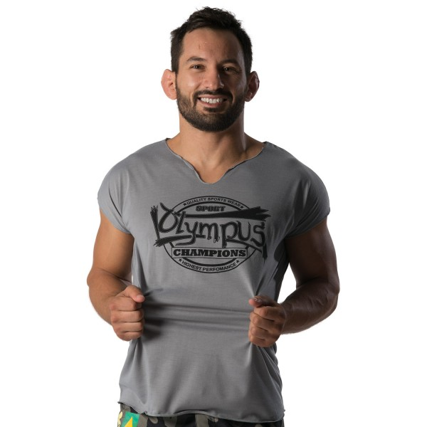 T-shirt No-Sleeves Olympus Champions 100% Cotton