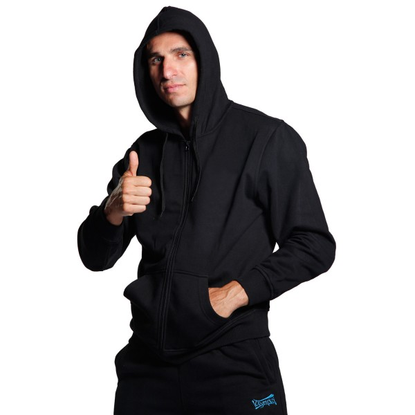 Sweater BUDO SPIRIT Black with Hood