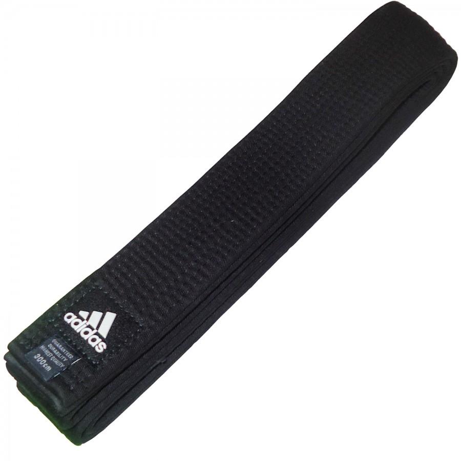 Ζώνη adidas Μαύρη Βαμβακερή Απλή 5εκ - adiBB04