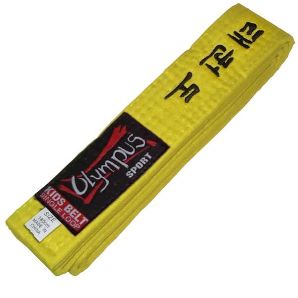 Belt Olympus Kids TKD Single Loop One Color
