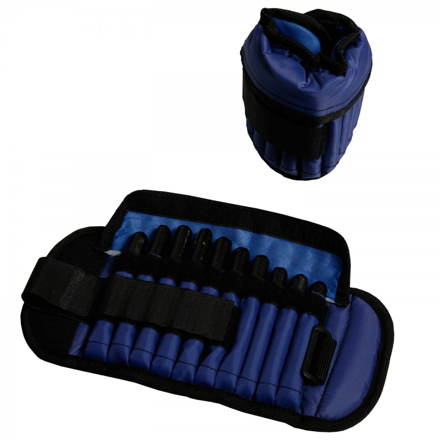 Ankle or Wrist Weights Insertable 2.65Kg Pair