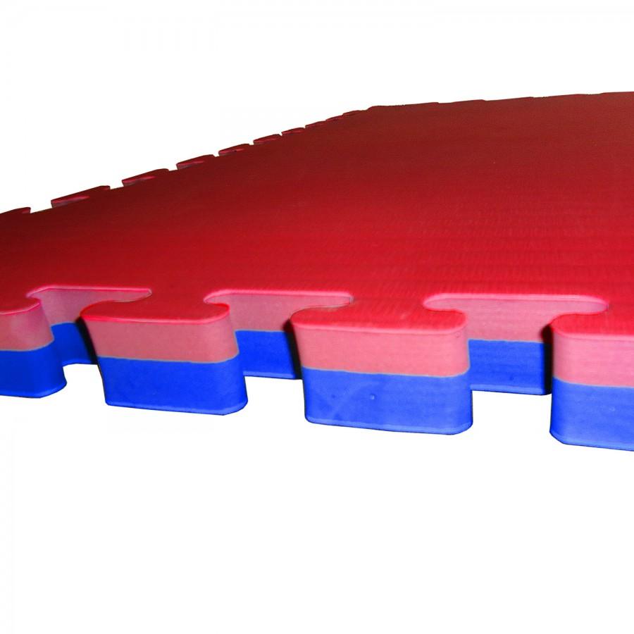 Tatami Puzzle Mat EVA Foam Reversible S1225 Pattern 100x100x4cm