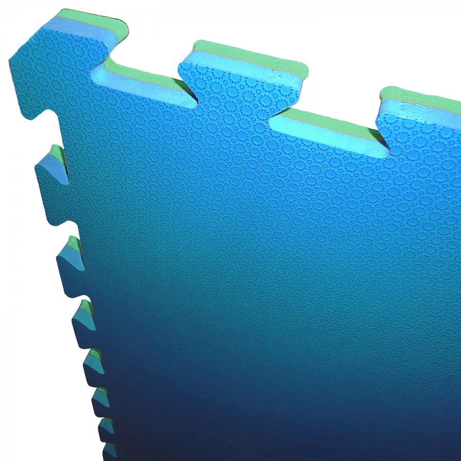 Tatami Puzzle Mat Foam JY 100x100x2cm - Cirlce Pattern