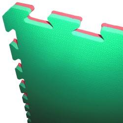 Tatami Puzzle Mat Foam JY 100x100x2.5cm - Circular Pattern