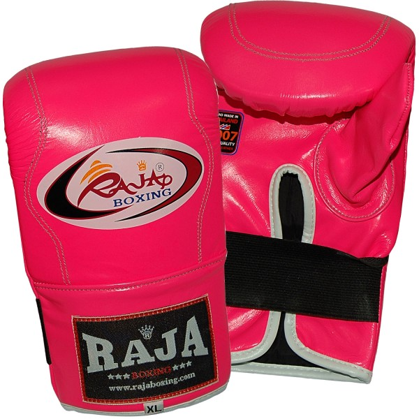 Γάντια Σάκου RAJA Δερμάτινα Ελαστικό Κλείσιμο Καρπού, Αντίχειρα - Μονόχρωμα
