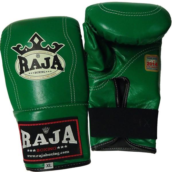 Bag Gloves RAJA Leather Elastic Wrist Closure Full Thump – One Color