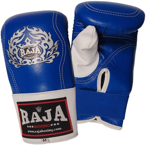 Bag Gloves RAJA Leather Elastic Wrist Closure Full Thump – Τwo Color