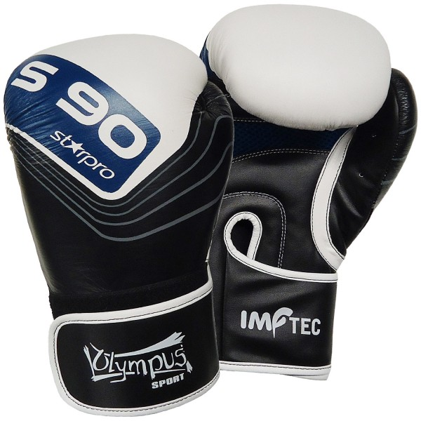 Boxing Gloves Olympus Starpro S90 ONE PIECE Cowhide Leather Hydra Flow