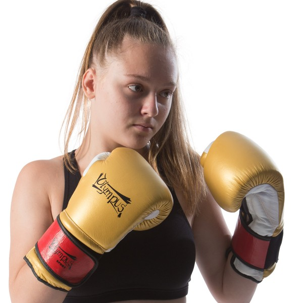 Boxing Gloves Olympus GLAMOUR FIGHTER Leather