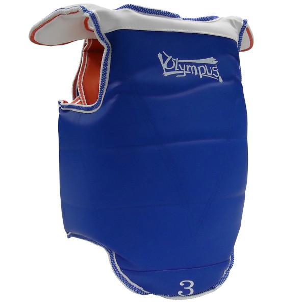 Taekwondo Body Protector Olympus KIDS VELCRO Closing Reversible