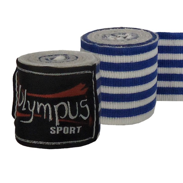 Hand Wraps Olympus HELLAS Elasticated Cotton Pair