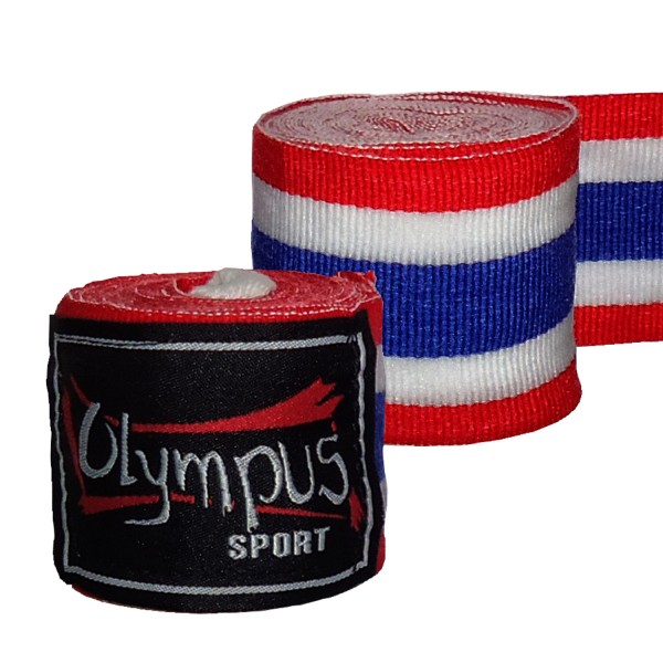 Hand Wraps Olympus THAI Elasticated Cotton Pair