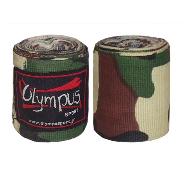 Hand Wraps Olympus CAMO Elastic Pair