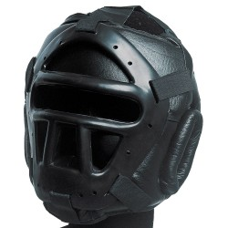 Head Guard Olympus - Leather with Gage