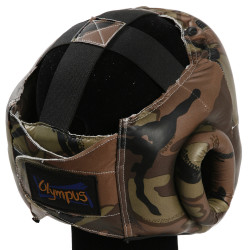 Head Guard Olympus - PVC Camouflage Chin & Cheeks Protection