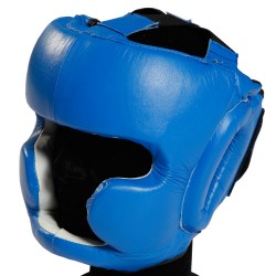 Head Guard Olympus - Leather Chin & Cheek Protection