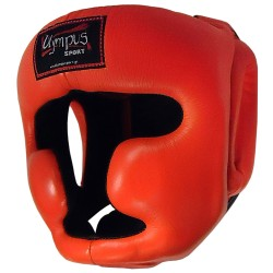Head Guard Olympus by Raja Chin and Cheek Protection Leather