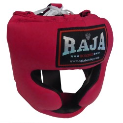 Head Guard Raja Chin and Cheek Protection Leather