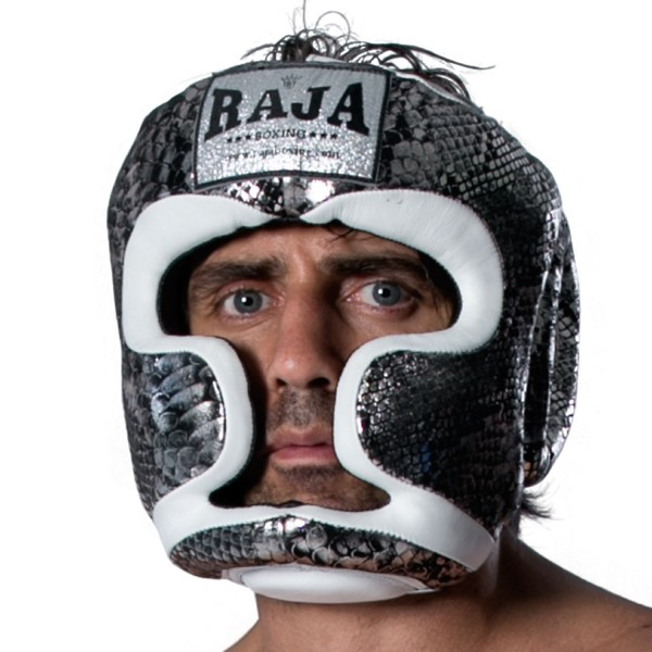 Head Guard RAJA Chin and Cheek Protection Leather SNAKE